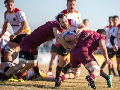 Georgien spielt zwar ebenso in der Rugby-Championship, aber sportlich gesehen momentan in einer anderen Liga, speziell wenn die DRV XV nicht in voller Stärke antreten kann. Foto (c) Perlich