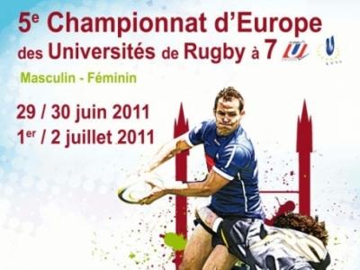 5. Europäische Hochschulmeisterschaft im 7er Rugby